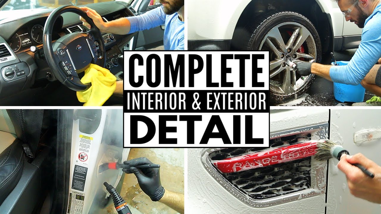 Improve The Look Of Your Car With Car Detailing