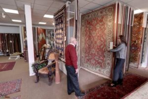What color rugs do you find in an online area rug store?