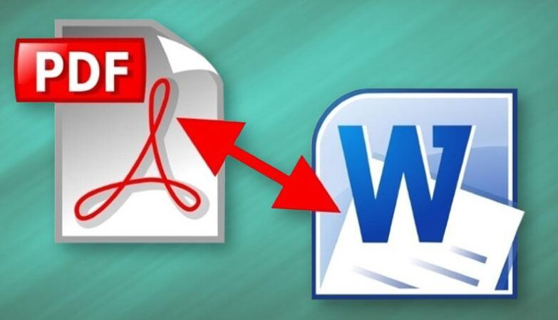 Difference between PDF and Word File